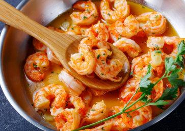 Shrimp Butter Masala
